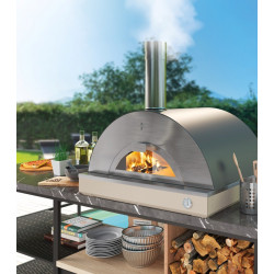 Riviera Antraciet 60x80 - 4 pizza's (incl. trolley)
