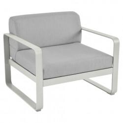 Fermob Bellevie lounge zetel (1p)- witte kussens
