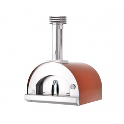 PROMO Pizza oven Red 60x60 - 2 pizza's