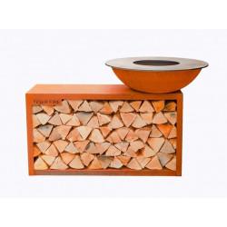 TiGER FiRE rond met houtstorage