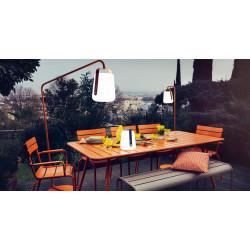Fermob Luxembourg tuinbank zonder rugleuning