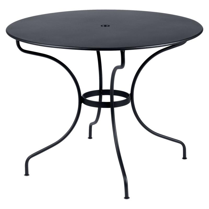 fermob opera ronde tuintafel d 96 cm. Black Bedroom Furniture Sets. Home Design Ideas