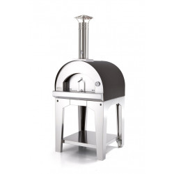 Margherita Antraciet 60x60 - 2 pizza's (trolley)