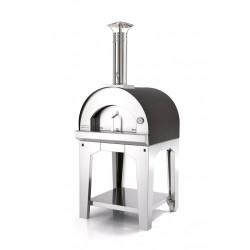 PROMO Antraciet 60x60 - 2 pizza's (trolley)
